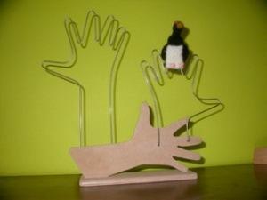 Presentatiemateriaal vingerpoppetjes (staand)